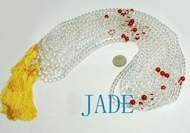"30"" NATURAL Crystal/Quartz Meditation Prayer Beads Mala image 2"