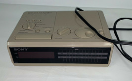 Vintage1980's Sony Dream Machine FM/AM Digital Alarm Clock Radio ICF-C2W... - $21.99