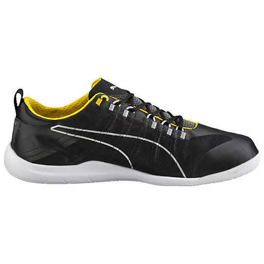 New PUMA FERRARI 11.5 US Techlo Everfit shoes sneakers black yellow mens