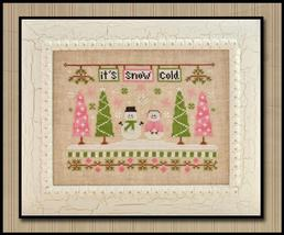 It's Snow Cold christmas cross stitch chart Country Cottage Needleworks - $7.20