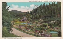 Tinytown Turkey Creek Canon Denver Mountain Parks Colorado CO 1950 Postc... - $2.69