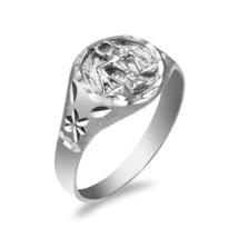 argento sterling Bilancia da donna Segno Zodiacale anello - $24.98