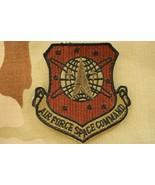 USAF US SPACE FORCE OCP MULTICAM COMBAT COMMAND SUBDUED UNIT PATCH HOOK ... - $15.83