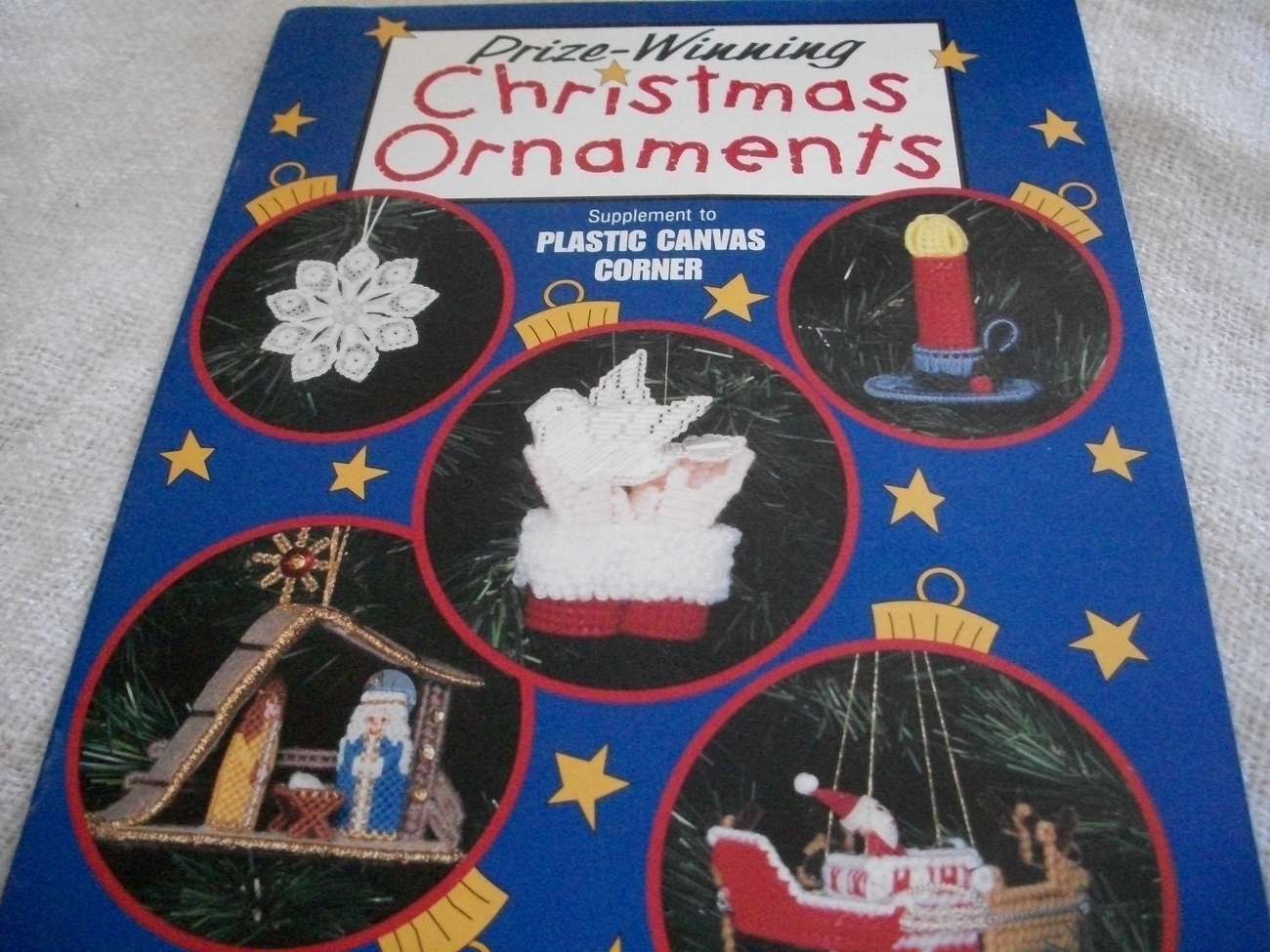 Primary image for Prize-Winning Christmas Ornaments Craft Book