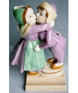 Dutch Boy and Girl Vintage Figural Toothbrush Holder made in Japan - $36.10