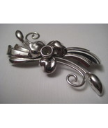 Vintage Boyd Bond Sterling Costume Brooch  - $11.70