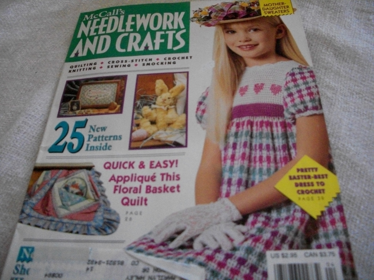 Primary image for McCall's Needlework And Crafts 1992 Magazine