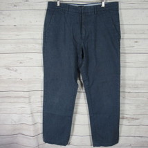 Banana Republic Pants Mens 33 Blue Trousers Slacks Straight Fit - $27.54