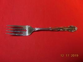 "6 3/8"", S. P., Salad Fork,  from 1881 Rogers/Oneida, 1959 Flirtation Pat... - $10.99"