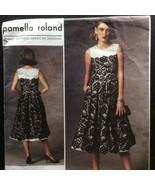 Vogue Sewing Pattern Pamella Roland V1425 14 16 18 20 22 Fitted Dress Av... - $6.49