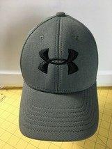 Caps Hats Snap-backs Ball Cap Gray Under Armour Youth Size - $16.61