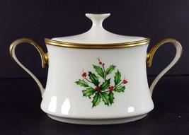 "LENOX China Holiday Dimension Mini Sugar Bowl & Lid 2-1/2"" Dinnerware - $69.29"
