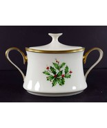 "LENOX China Holiday Dimension Mini Sugar Bowl & Lid 2-1/2"" Dinnerware - $69.29"