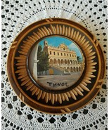Thnoe decorative wooden plate with picture - $8.04