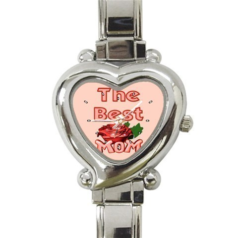 Primary image for Ladies Heart Italian Charm Watch Best Mom Rose Love Gift model 26386019