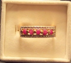 Ruby Band Ring image 1