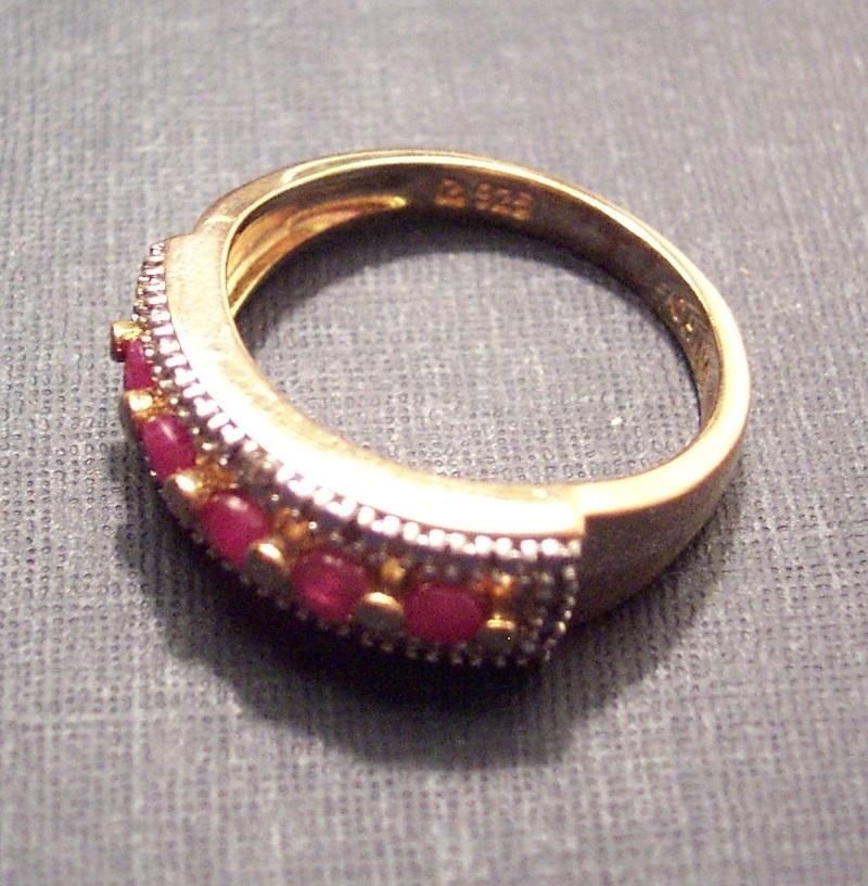 Ruby Band Ring image 2