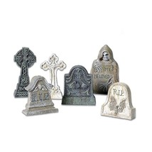 Department 56 Accessories For Villages Halloween Tombstones Accessory Fi... - ₨753.21 INR