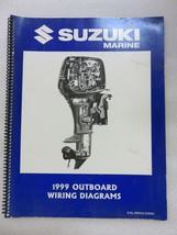 1999 Suzuki Marine Outboard Wiring Diagrams Service Manual 99954-53990 - $7.97