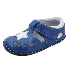 Baby Boys Girls Genuine Leather Soft Bottom Sandals First S Shoes (11. - $35.99
