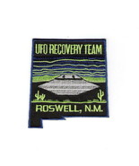 UFO Recovery Team, Roswell, N.M. Logo Embroidered Patch, NEW UNUSED - $7.84