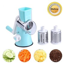 3in1 Spinning/Rotating Mandoline and Countertop Food Slicer, Chopper, an... - $39.87