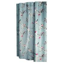 Panda Superstore Flower and Bird Shower Curtain Waterproof Bathroom Curtain, 180