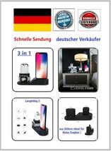 Silikon Ladestation Dock Station Halterung für Apple Watch Airpods und i... - £13.74 GBP