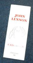John Lennon Canciones Song book Mexico 2001 - $15.99