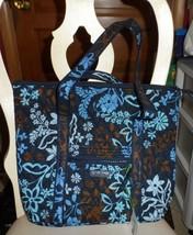 Vera Bradley Villager large zipper tote in Java Floral - $48.00