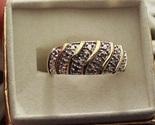 Diamond swirl ring 14k vermeil thumb155 crop