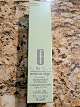 CLINIQUE MOISTURE SURGE Hydrating Supercharged Concentrate 1.6 Oz 48 ml NEW - $16.99