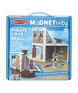 Melissa & Doug Magnetivity Magnetic Tiles Building Play Set – Pirate Cove - $36.99