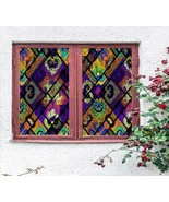 3D Elegant Muster P153 Window Film Print Sticker Cling Stained Glass UV ... - $16.42+