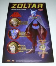 WOLVERINE STATUE/ZOLTAR BATTLE OF THE PLANETS FIGURE POSTER image 2