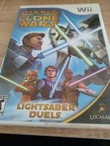 Nintendo Wii Star Wars: The Clone Wars: Lightsaber Duels image 1