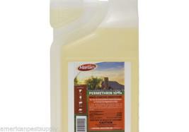 Permethrin 10% Insecticide Conc 8oz Fleas Roaches Mange Lice Ticks Mites... - $12.59