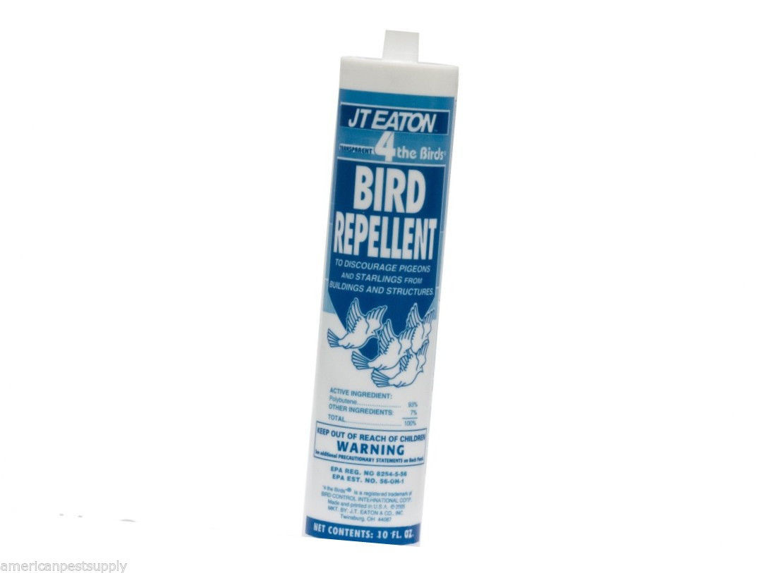Bird Repellent Gel Pigeons Starlings House Sparrows Bird Repeller for Most Birds
