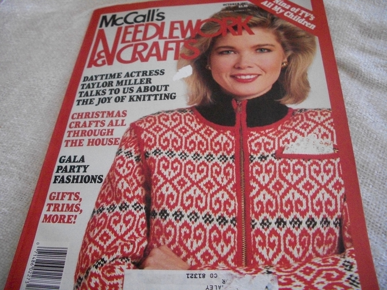 Primary image for McCall's Needlework & Crafts October 1987 Magazine