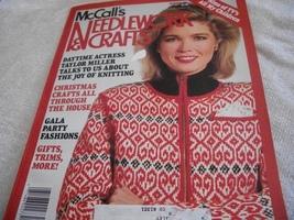 McCall's Needlework & Crafts October 1987 Magazine - $5.00