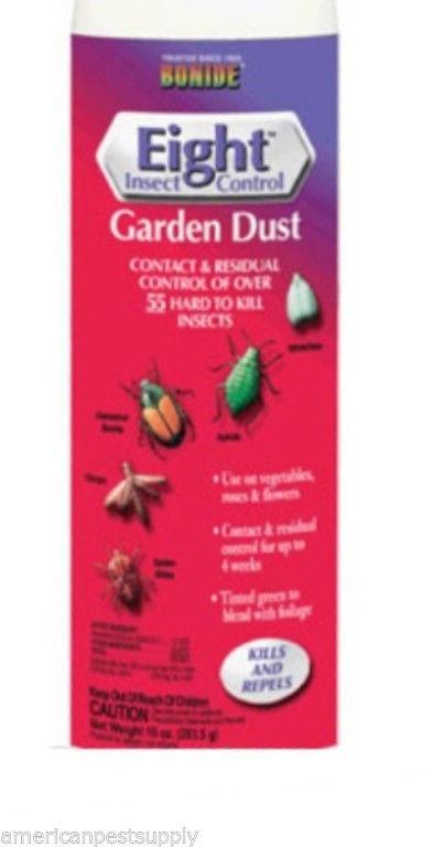 12 Bottles Permethrin Insect Garden Dust 10 oz Roses Flowers Vegetable Gardens