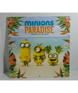 Minions 12 month calendar with Minions paradise pictures Year of 2017 - $7.79