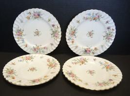 Four Minton Salad Plates - Marlow Pattern - $23.74