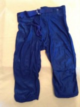 Youth small Alleson football pants blue practice athletic sports boys New - $12.99