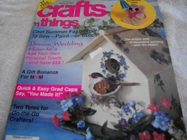 Crafts 'n Things May 1993 Magazine - $5.00