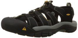 KEEN Men's Newport H2 Sandal Black 9 M US - $122.28 CAD