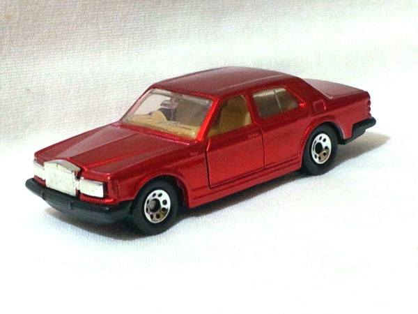 Primary image for Matchbox Rolls Royce Silver Spirit Red 7.5cm Die Cast Model Car