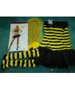 ADULT BUMBLE BEE HALLOWEEN COSTUME SIZE SMALL . - $17.50