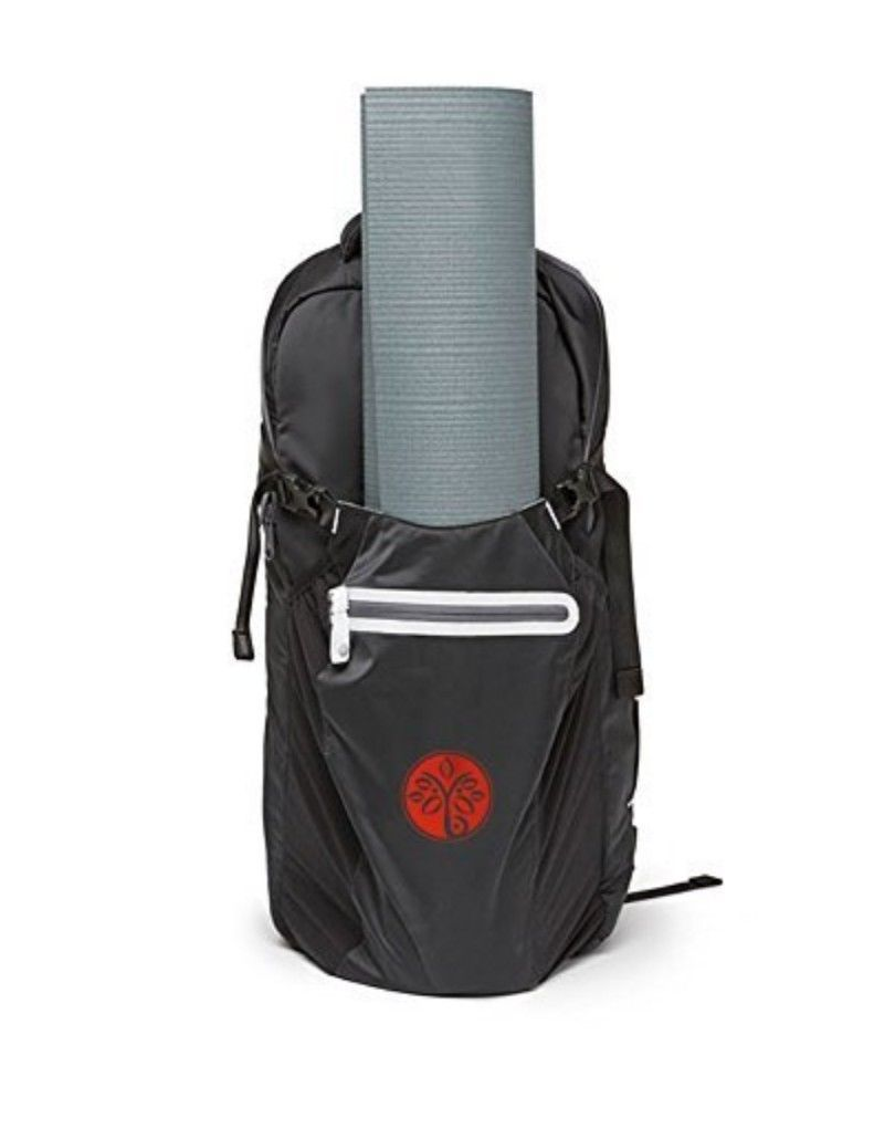 Yoga Mat Backpack Carrier Bag Straps Towel Water Bottle Phone Wallet Laptop Keys