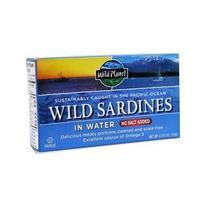 Wild Planet Sardines No Salt In Water (12x4.37 Oz) - $49.03